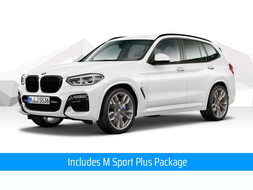 BMW X3 Diesel Estate xDrive M40d 5dr Step Auto